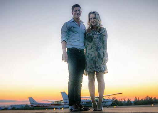 Sunset Tour flight romantic augusta georgia aviation