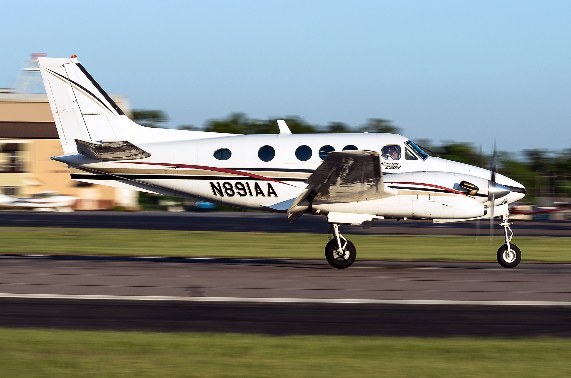 Kingair 90 Augusta Aviation Charter service