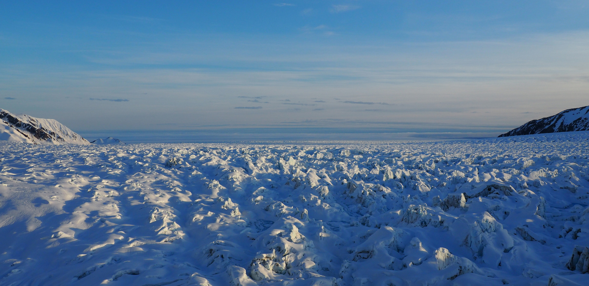 Seward glacier