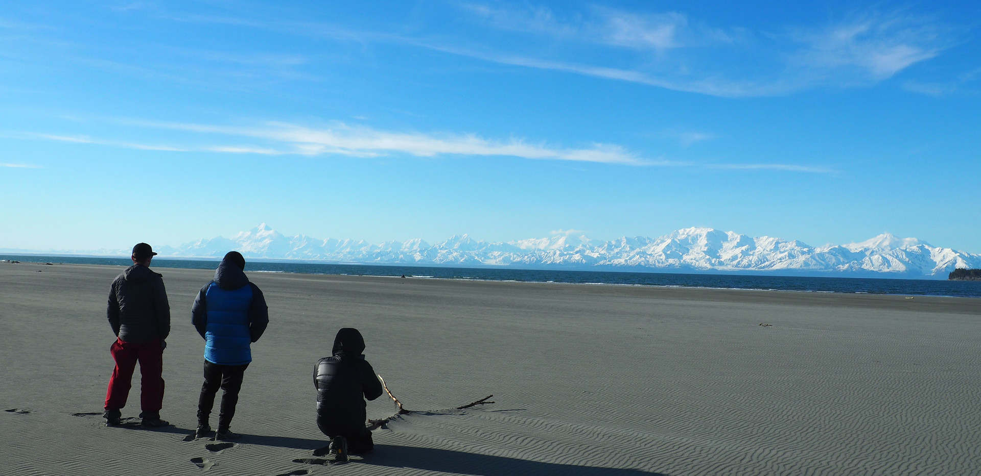 From the beach to the St Elias