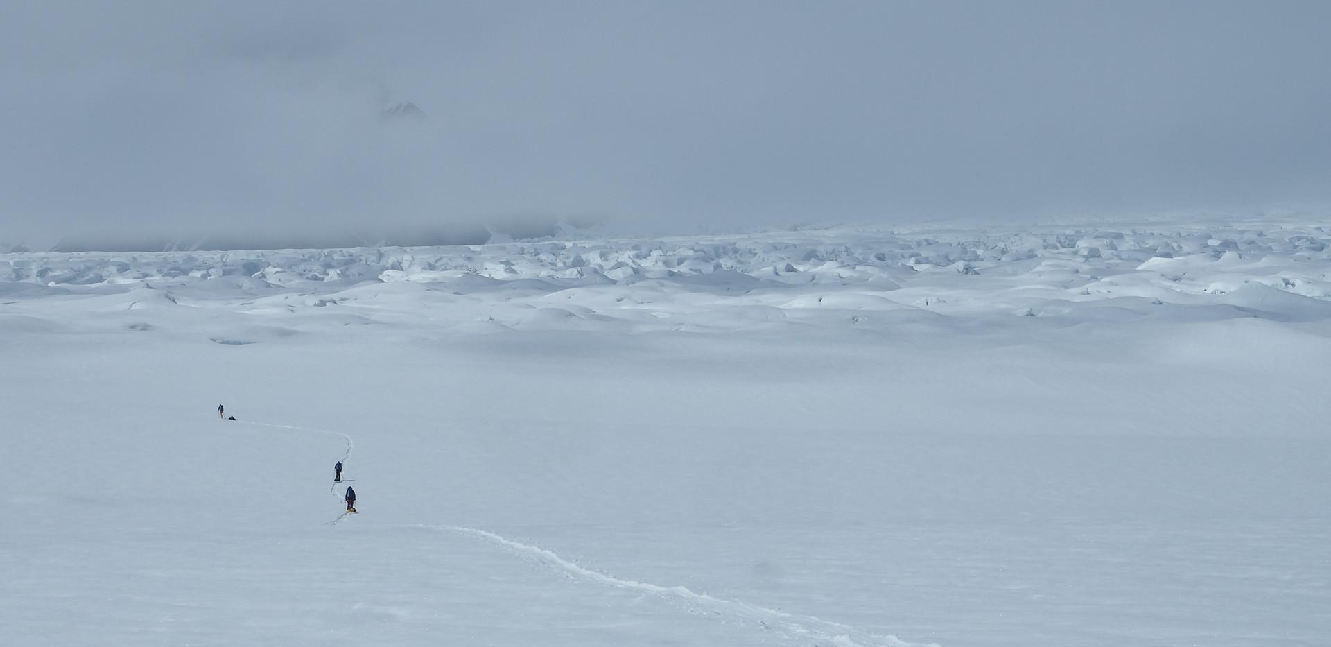 An ocean of ice