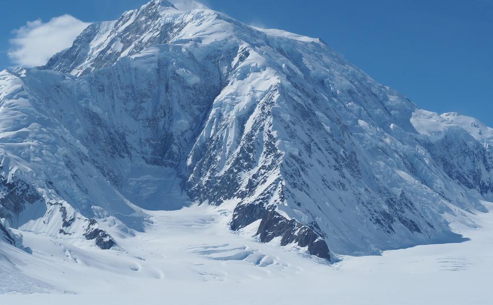 Mt Logan and the East ridge