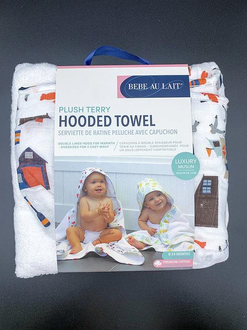 Nautical Hooded Towel