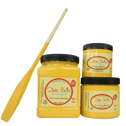 Colonel Mustard Chalk Mineral Paint 16 oz