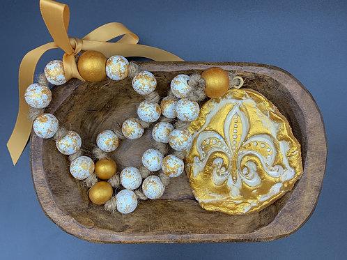 Fleur De Lis Blessing Beads