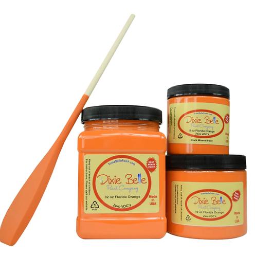 Florida Orange Chalk Mineral Paint 16 oz