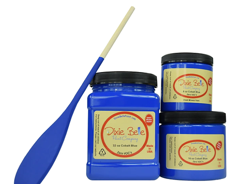 Cobalt Blue Chalk Mineral Paint 16 oz