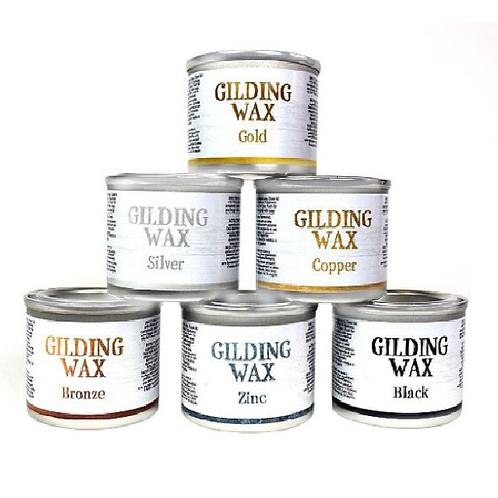 Gilding Wax- Black 1 oz