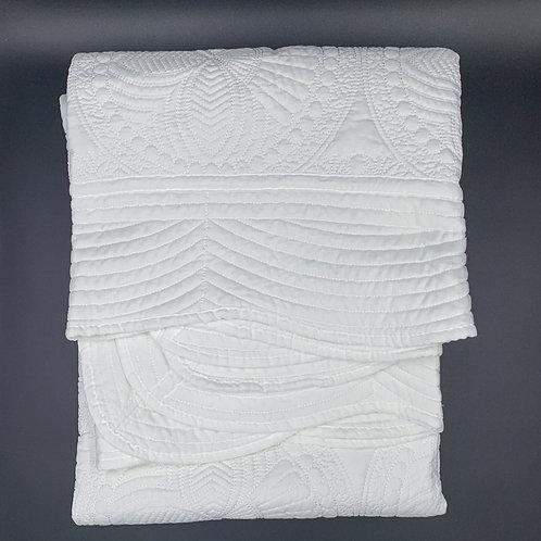 White Heirloom Quilt