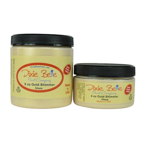 Glaze-  Gold Shimmer 4 oz