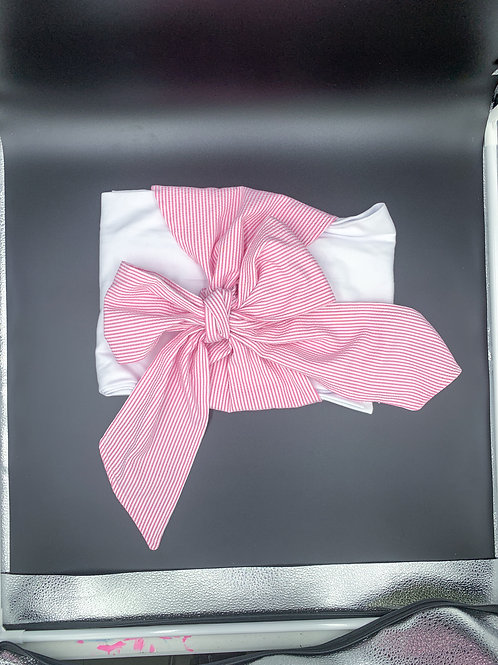 Swaddler with Pink Bow