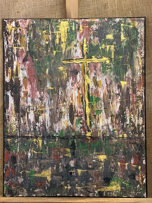 Cross in Swamp