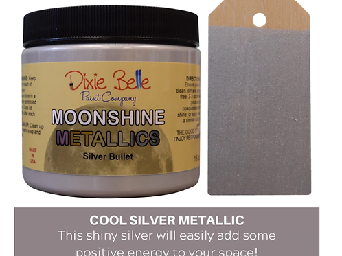 Moonshine Metallics- Silver Bullet 16 oz