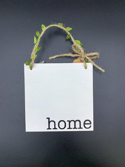 """home"" Wall Hanger"