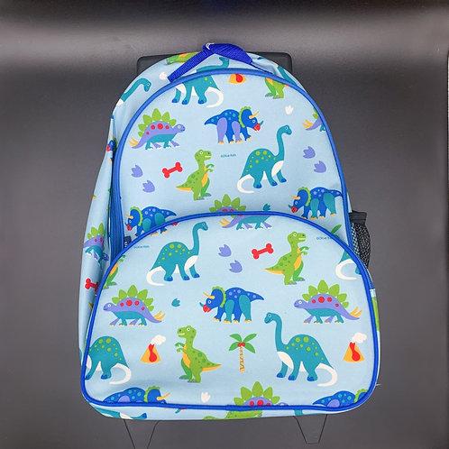 Kids Dino Rolling Backpack