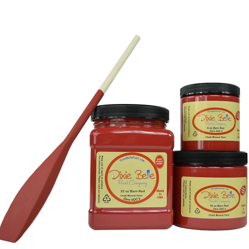 Barn Red Chalk Mineral Paint 8 oz