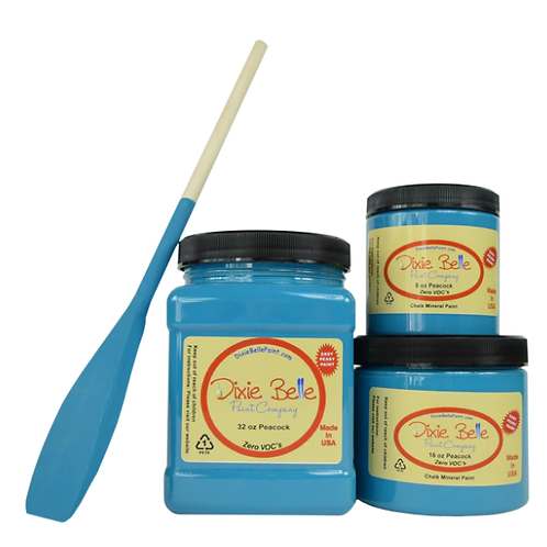 Peacock Chalk Mineral Paint 8 oz