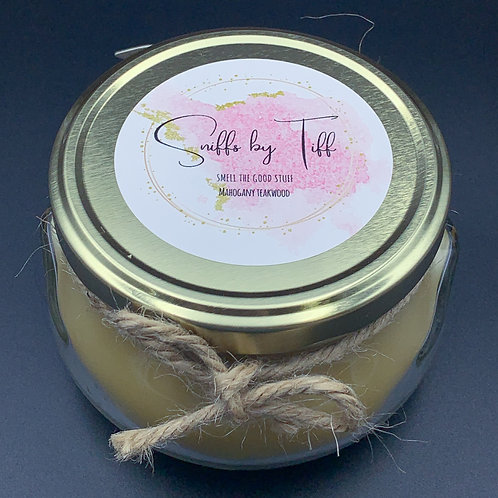 """""""Mahogany Teakwood"""" Sniffs by Tiff Candle"""
