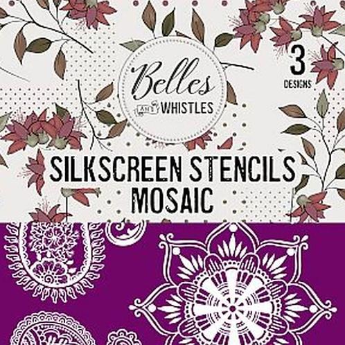 Silkscreen Stencils Mosaic