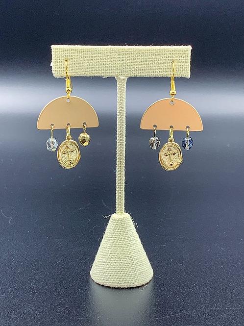 3 Charmed Earrings