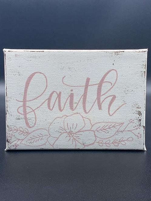 """White& Pink """"faith"""""""