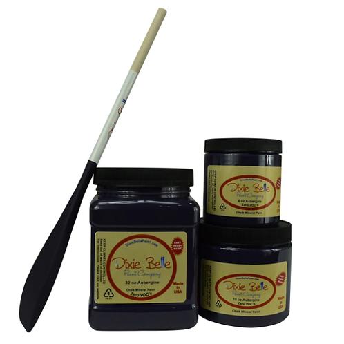 Aubergine Chalk Mineral Paint 8 oz