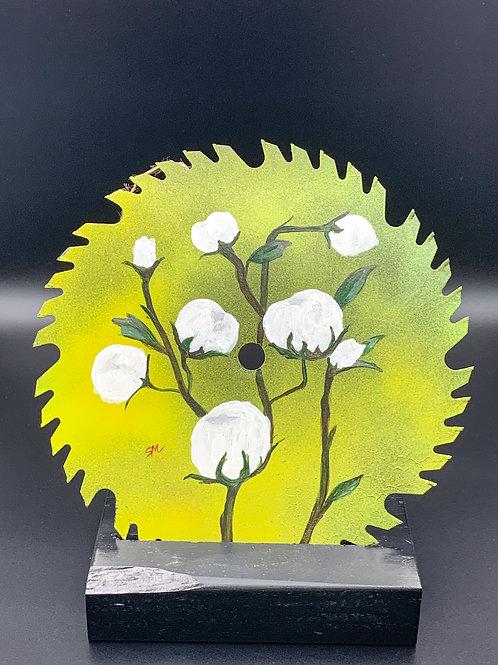 Cotton on Circular Saw Blade