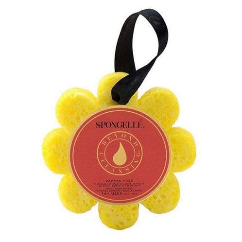 Spongellé Papaya Yuzu Wild Flower Bath Sponge