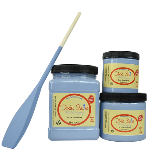 Blueberry Chalk Mineral Paint 8 oz