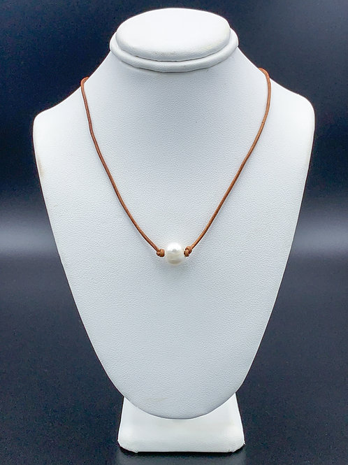 Adult Bronze Pearl Necklace