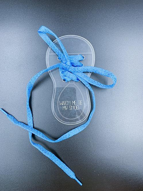Blue Watch Me Tie My Shoe