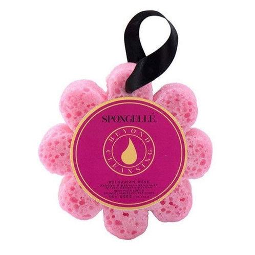 Spongellé Bulgarian Rose Wild Flower Bath Sponge
