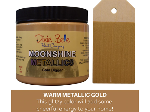 Moonshine Metallics- Gold Digger 16 oz