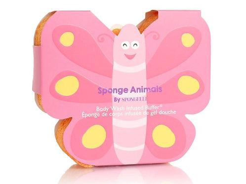 Spongellé Butterfly Bath Sponge Animal