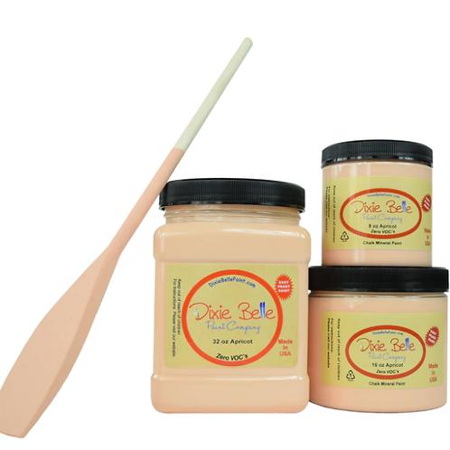 Apricot Chalk Mineral Paint 8 oz