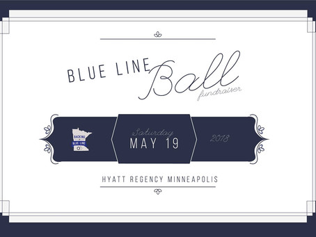 2018 Blue Line Ball in Minneapolis, MN Announced!