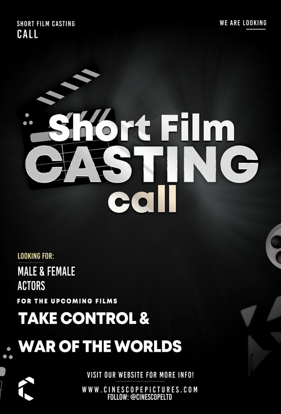 Casting Call for Two Short Films - South Wales