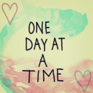 Just ONE day...