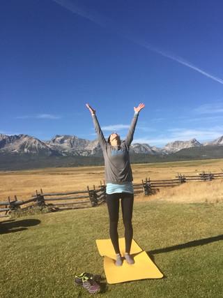 Sun (Valley) Salutation Challenge