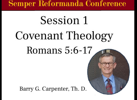 An Overview of Covenant Theology