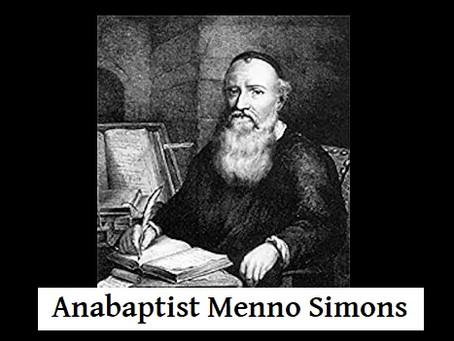 Anabaptist Menno Simons