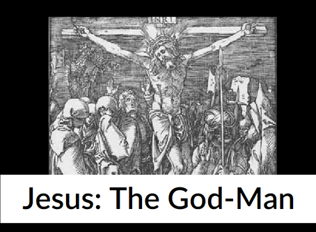 Why was Jesus both God and Man?
