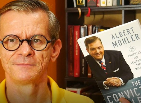 Book Review: The Conviction to Lead- AL Mohler