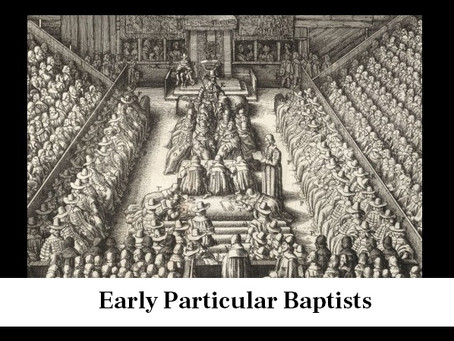 Early Particular Baptists