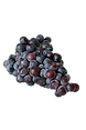 With a thick dark purple skin and crunchy seeds, concord grapes are widely valued for use as table grapes, wine grapes, juice grapes and especially to make jellies and jams.