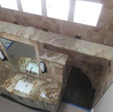 Massive-Vanity-Vaulted Ceiling-Stonework