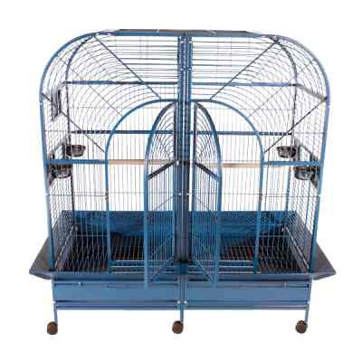 "64""x32"" Double Macaw Cage with Removable Divider"