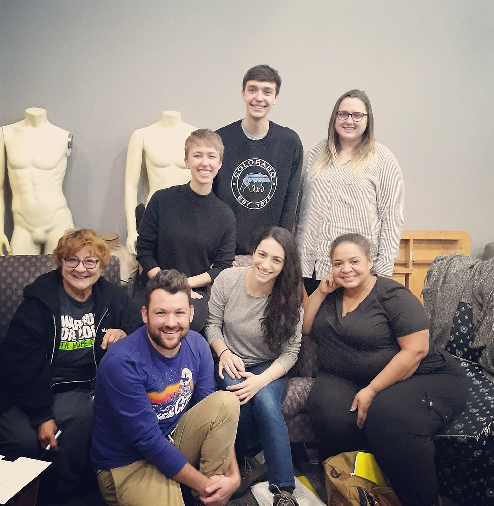 Featuring Director Ryan Fortney, Stage Manager Allie Hornbostel, Established Artist Nancy Marcy, and Emerging Rep Members Kitty Corum, Sonia Gwin, Annie Schwaner, and Jace Willcutt