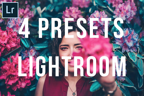 PACK 4 Preset LIGHTROOM