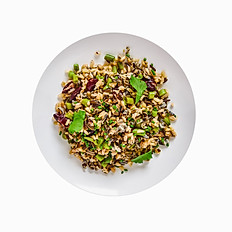 Wild Rice and Peas